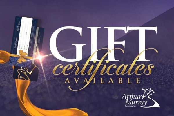 Arthur Murray Cambridge Dance Lesson Gift Certificates
