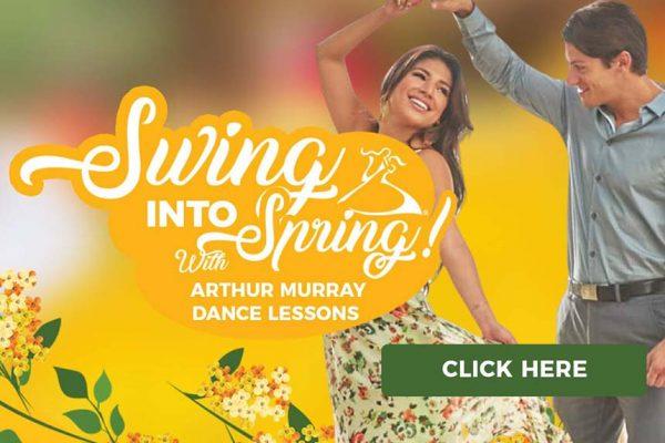 Arthur Murray Cambridge Spring Dance Lesson Specials
